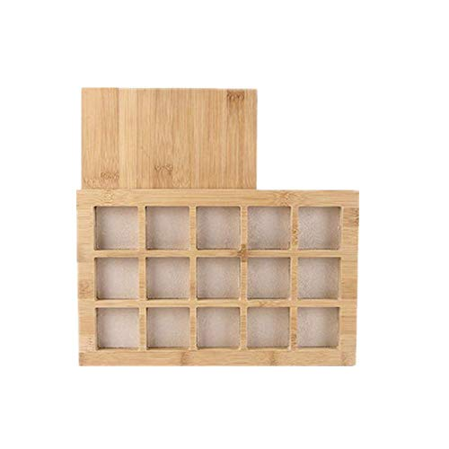 Beading Tray Tingrua Natural Bamboo Wooden Beads Beading Board Beading Mat Organizer Tools for Jewelry Making Art DIY Crafts Supplies Jewelry Display by Tingrua