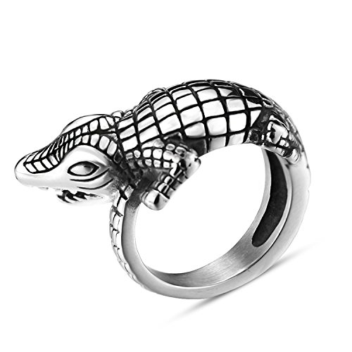crocodile ring - 9