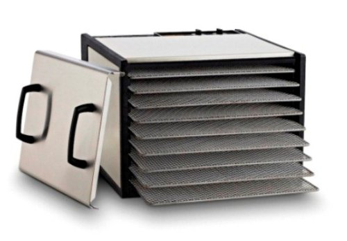excalibur-9-tray-stainless-steel-dehydrator-w-stainless-steel-trays-and-door-model-d900shd