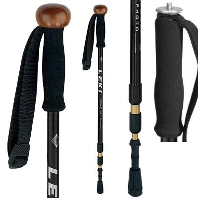 Leki Sierra Antishock Trekking Pole (Single) Black One Size