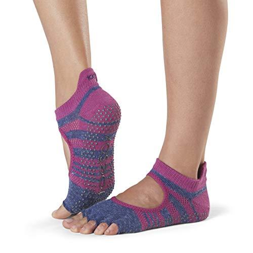 Socken Barre Toesox Verwendet 1 Slip Socken Grip Bellarina Half Fitness Werden Toe Atomic Und Skid Können Yoga Tanzsocken Für Paar Pilates zZrzq