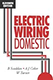 img - for Electric Wiring Domestic, Eleventh Edition book / textbook / text book
