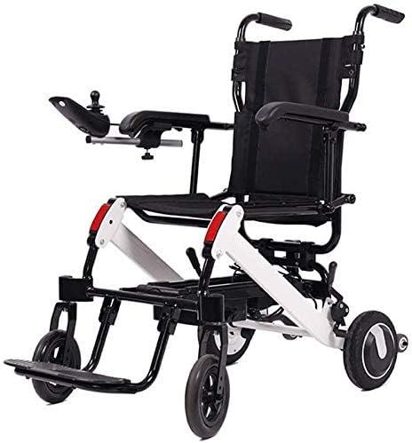 XRZY エクストラコンフォートのための黒い四輪スクーターは、軽量Lntelligent電動車いす、折りたたみキャリー耐久性に優れ、安全かつ簡単にドライブ