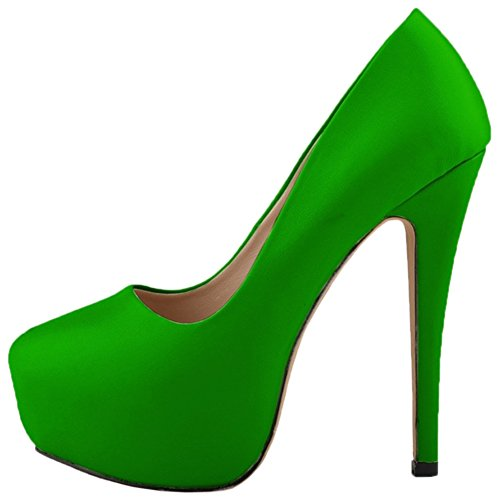HooH Plataforma Tac Mujer Mujer Stiletto HooH n8WgRq4YF