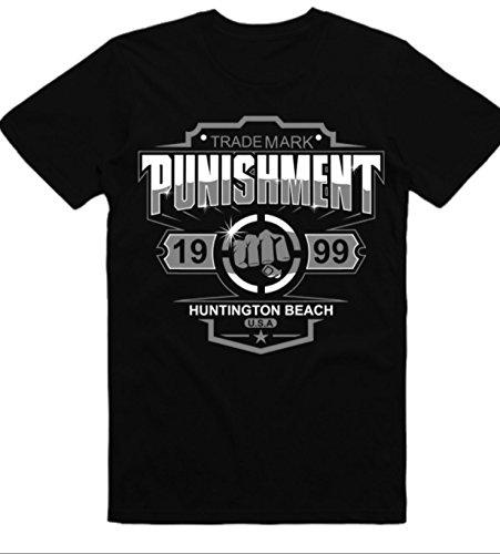 Punishment - Trademark Black Tee (Tito Ortiz Shirt)