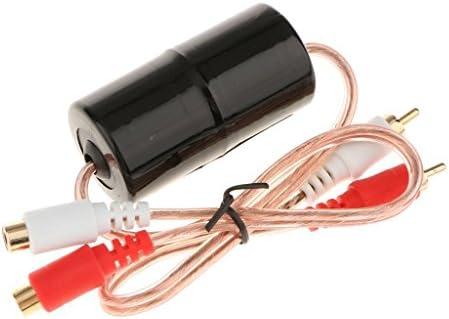 SGerste カー オーディオ ノイズキャンセル フィルタ 簡単操作 12V 騒音除去 サプレッサー きれいな音楽 互換性 耐摩耗性小