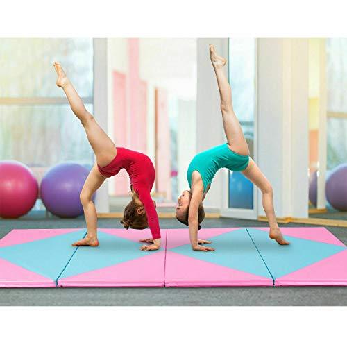 Stark Item 4'x10'x2 Gymnastics Mat Folding Portable Exercise Aerobics Fitness Exercise Gym