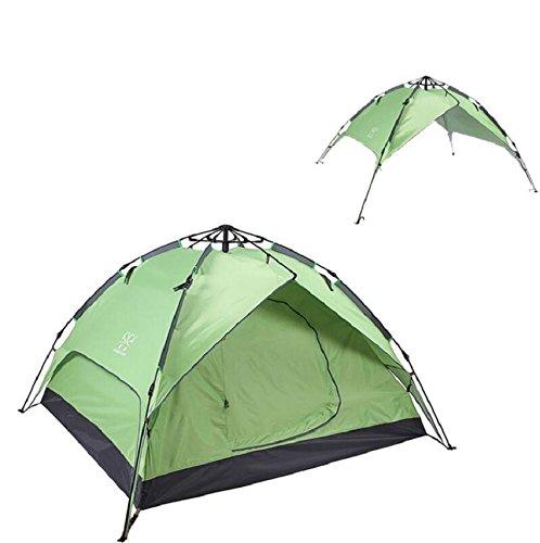 ZC&J Outdoor Camping Zelte, 3-4 Personen Camping Camping Camping Zelte, Oxford Tuch Regen, tragbare Zelte