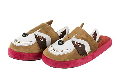 Mens Guardians Of The Galaxy Rocket Raccoon Slip On Slippers