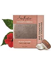 Shea Moisture Coconut and Hibiscus Rhassoul Clay Shampoo Bar by Shea Moisture for Unisex - 4.5 oz Shampoo Bar, 136.08 grams