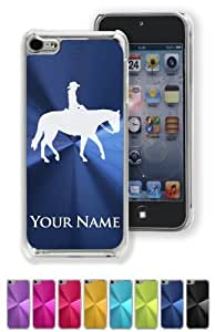 MMZ DIY PHONE CASECase/Cover for ipod touch 4 - WESTERN PLEASURE HORSE - Personalized for FREE (Click the CONTACT SELLER link after purchase and send a message with your case color and engraving request)
