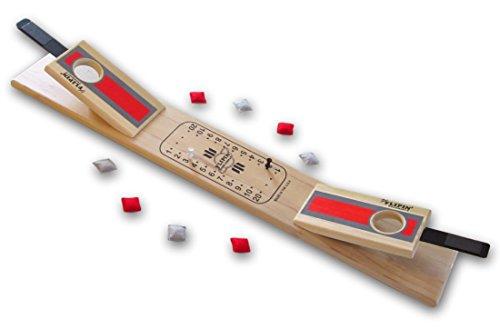 Premium Flipin' Table-Top Mini Cornhole Game Board, Ohio State Buckeyes Colors