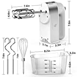 Hand Mixer Electric, 450W Kitchen Mixers with Scale