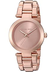 Michael Kors Womens Delray Rose Gold-Tone Watch MK3518