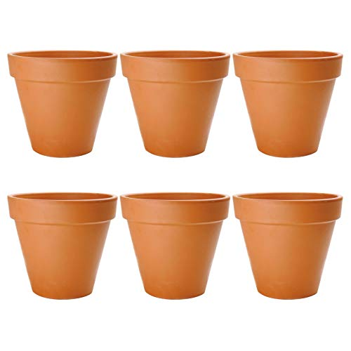 4 1 2 inch plastic flower pots - 5