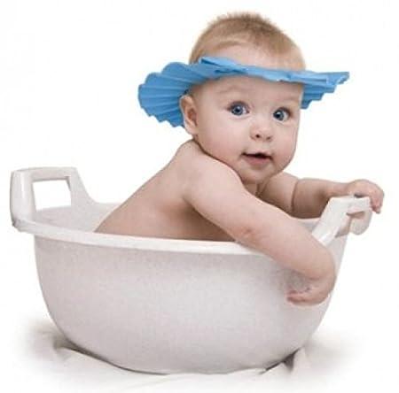 3x süße Baby Badekappe Schutzhut für Kinder Duschhauben Badezimmer
