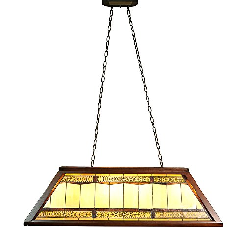 Tiffany Island (Warehouse of Tiffany WBL422659X2+WBL162659X2/WL1012 Kring 4-Light Amber Inch Tiffany-Style Island Ceiling Lamp 4, 46