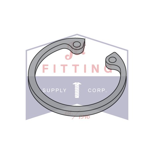Quantity: 1,000 pcs 1.062 Internal Style Retaining Rings//Steel//Black Phos