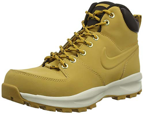 NIKE Men's Manoa Leather Boot, Haystack/Haystack/Velvet Brown, 12 D(M) US