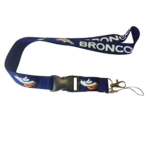 ENJOY 11 NFL design Lanyard with Detachable Buckle (Broncos)