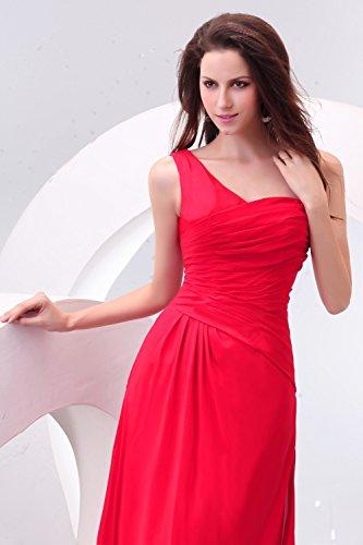 Bridal_Mall - Vestido - Sin mangas - para mujer azul cian