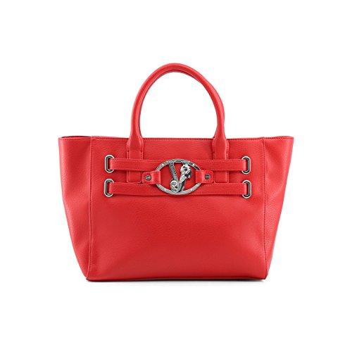 Designer Rrp Red Handbag Women Genuine Jeans Versace 1xYqRwXP