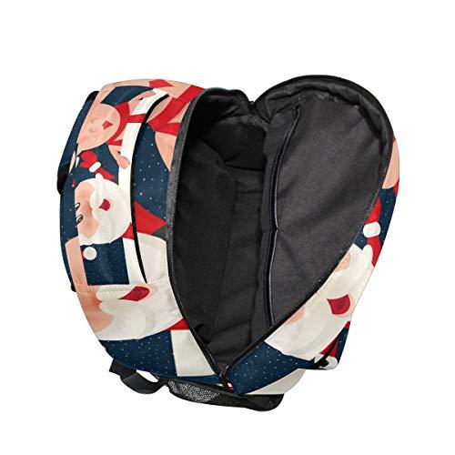New Teenager Girls Bag Man Travel Women Pig Boys School Ahomy Book Old Bag for Hiking for Year Satchel Backpack Men Happy Backpack 6wXOwzqBWY