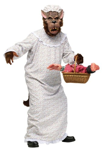 Big Bad Granny Wolf Adult (Wolf Costumes For Adults)