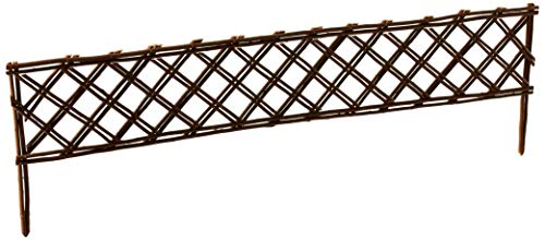 Master Garden Products Lattice Style Willow Edging, 16 by 47-Inch