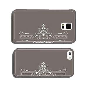 Art Deco Style Elegant Monogram - Retro Frame - in vector cell phone cover case iPhone6
