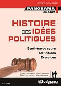 Histoires des idées politiques par Marc Ortolani