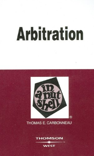 Arbitration in a Nutshell (Nutshell Series)