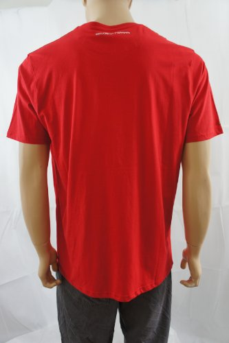 ferrariHerren Poloshirt, Einfarbig Rot Rot