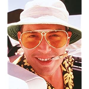 Fear And Loathing In Las Vegas Hunter S. Thompson Costume Sunglasses  sc 1 st  Funtober & Fear And Loathing In Las Vegas Hunter S. Thompson Costume Sunglasses ...