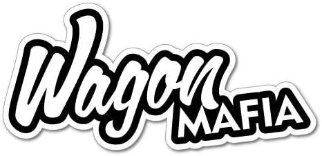 Adesivo decorativo WAGON MAFIA JDM
