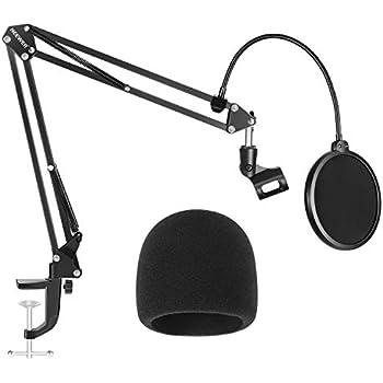 Amazon Com Microphone Pop Filter For Studio Condenser Microphone