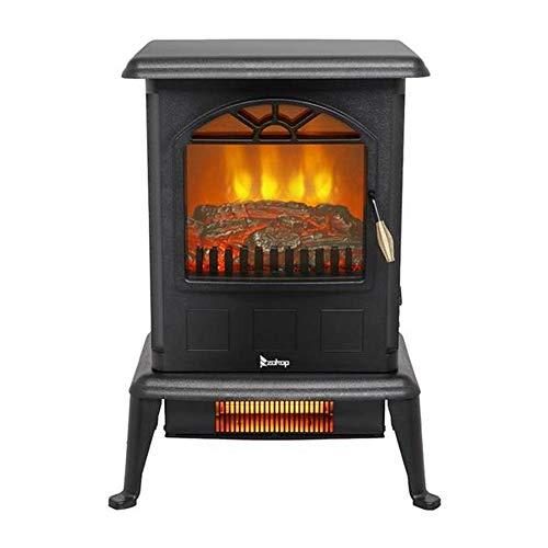 Amazon.com: Estufa de chimenea eléctrica con calefacción por ...