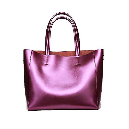 Femme Élégant Capacité Yxpnu À Pour Voyage Grande Sac Simple Shopping Main Purple HxXIXWZBq