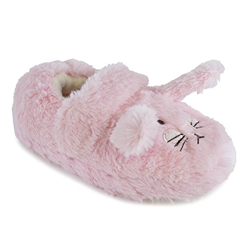 Chaussons Chatterbox Easy Access Bunny Pour Pink Fille OOx4vr