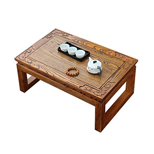 Tables Coffee Living Room Coffee Solid Wood Coffee Carved Window Tatami Coffee Study Chess Balcony Small Coffee Bed Computer
