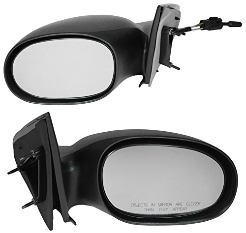 (Manual Mirrors Pair Set for 2000-2005 Neon)