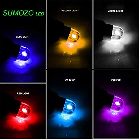 White SUMOZO 6 Pack T10 W5W 501 LED Bulb 2-SMD 3030 194 168 2825 Wedge T10 Light Car Interior Dashboard Bulb Sidelight Boot Lights Number Plate Bulb DC 12V