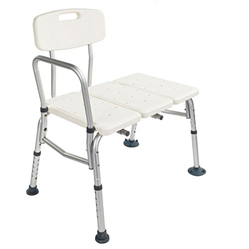 Store LLC Shower Chair 10 Height Adjustable Bath Tub Medical Shower wi