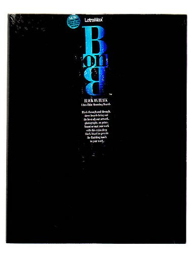 Bainbridge Black On Black Board 11 in. x 14 in. pack of ()