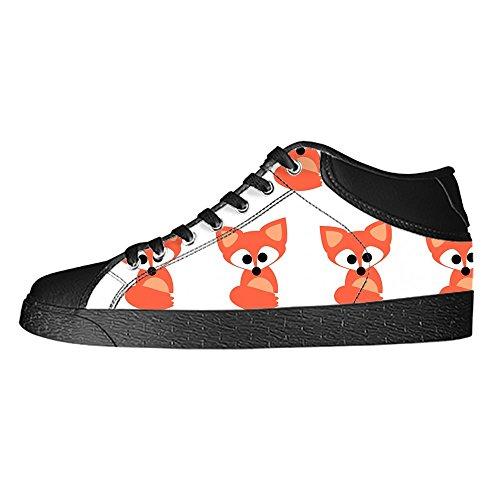 Lacci Women's Tetto I delle Fox Ginnastica Canvas Alto Shoes Custom Scarpe Scarpe da Scarpe qXxwfTOw5