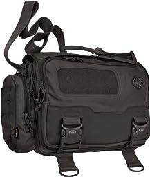 Hazard 4 Sherman Laptop-Messenger Brief, Black