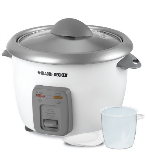 Black-Decker-RC3406-3-Cup-Dry6-Cup-Rice-Cooker-and-Steamer-White