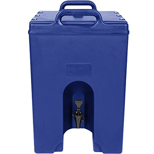 Cambro 1000LCD186 Camtainer 11.75 Gallon Navy Blue Insulated Beverage ()