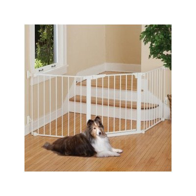 Command Pet Custom Fit Gate, 29.5'', White