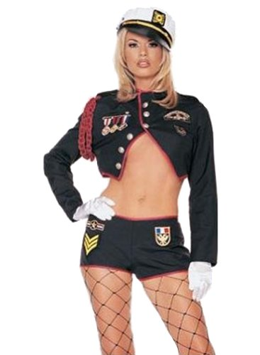Sexy Army Trooper Uniform Adult Halloween Costume (Sexy Army Uniforms)